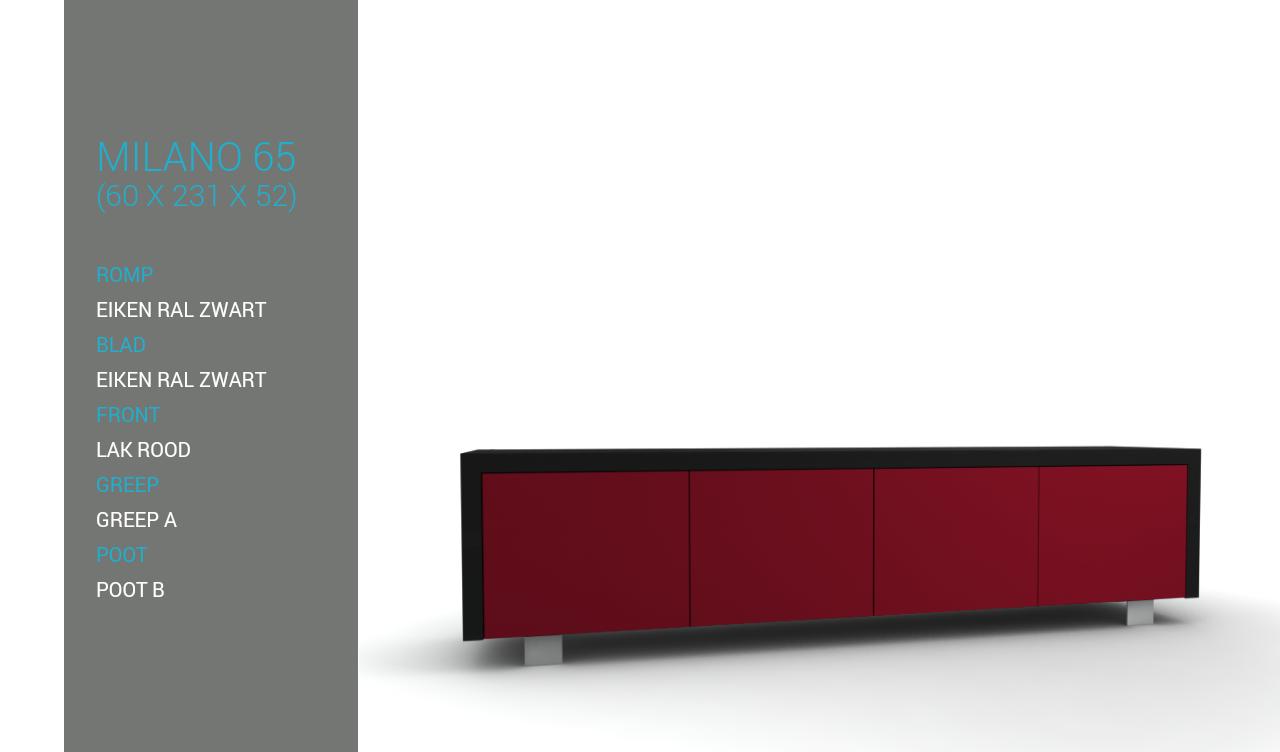 Tv Meubel Rood : Tv meubel online kopen ruim tv meubels otto